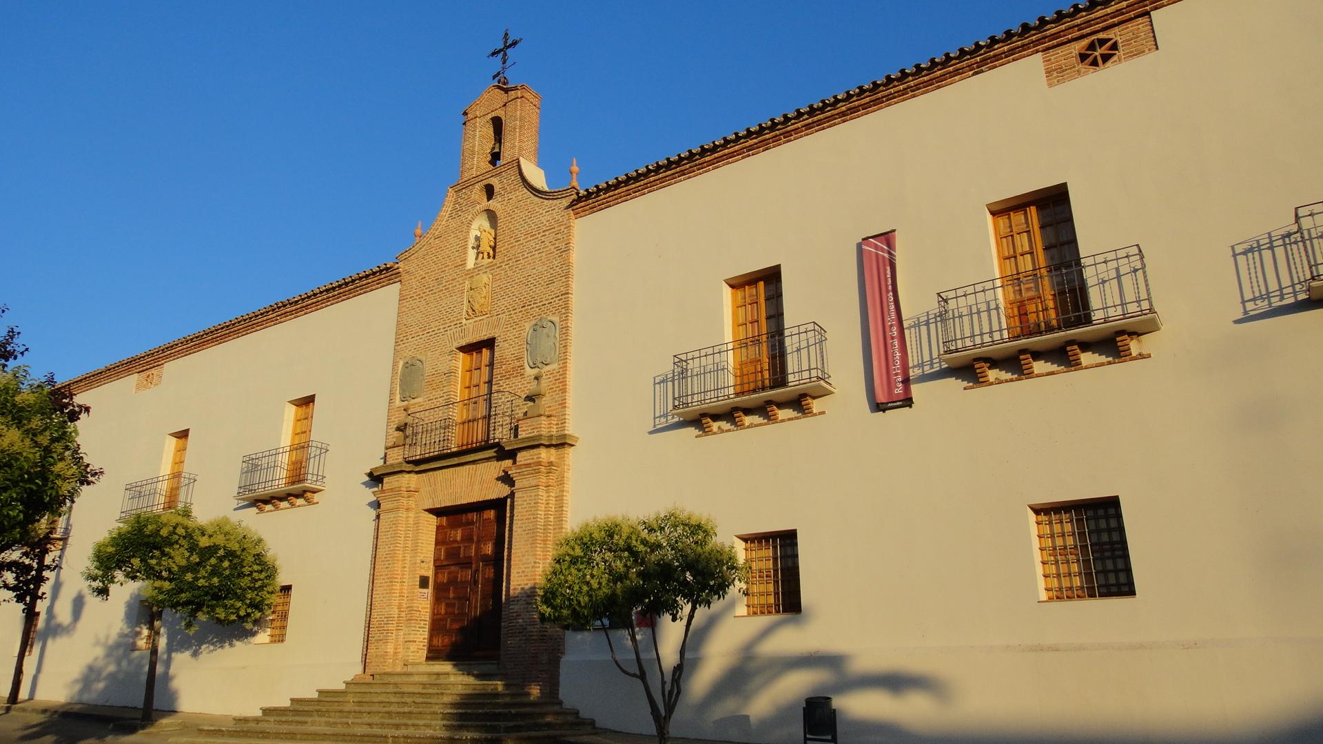 Real hospital de mineros de san Rafael, en Almadén