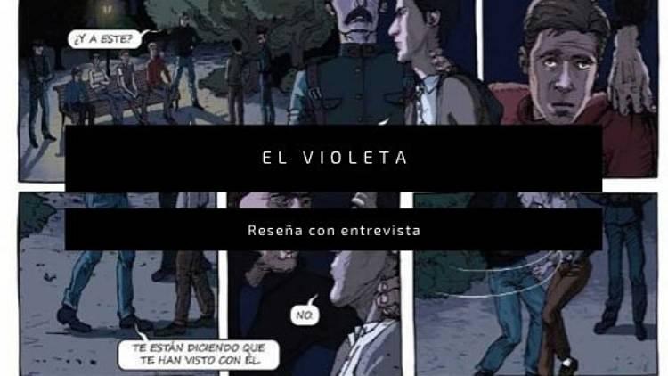 El violeta es un cómic de la editorial Drakul, cuyos autores son Marina Cochet, Juan Sepúlveda Sanchis y Antonio Mercero